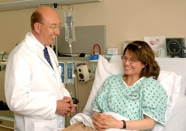 comunicando com o paciente