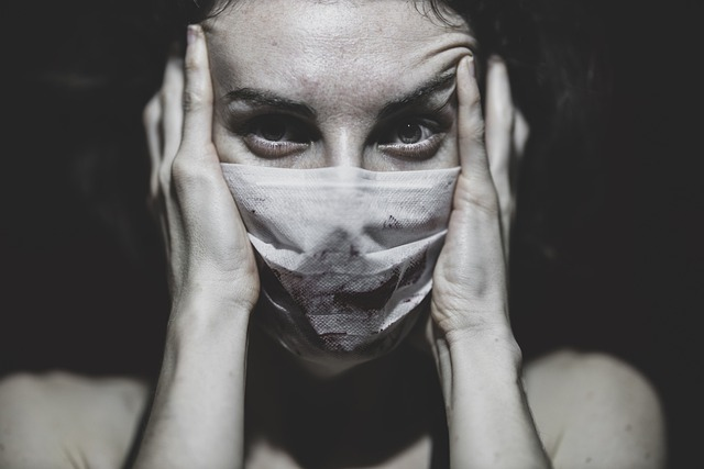 enfermeira estressada